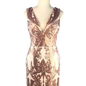 Bariano Rose Gold ~ Size 8 ~RRP :$399.95